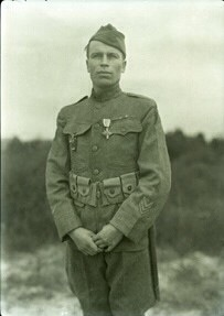 "he exhibition ""In Their Own Words: Native Americans in World War I"" tells the story of soldiers such as Joseph LaJeunesse, shown here in 1919."