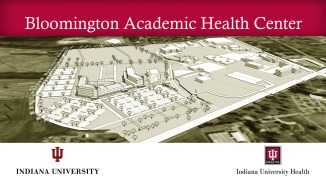 Plans for the future IU Health Bloomington Hospital
