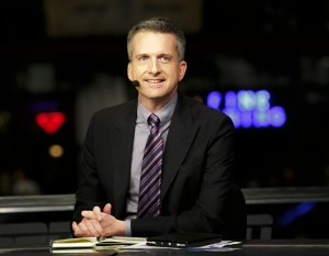 New Orleans, La. - January 30, 2012 - Jax Brewery: Bill Simmons on the set of KIA NBA Countdown.(photo by Don Juan Moore/ESPN Images)