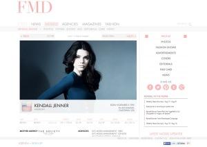 Kendall Jenner profile